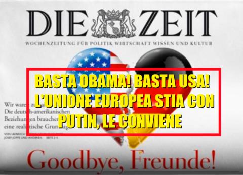 """Die Zeit: """"Одумайтесь! Все, кто пытался насильно лишить Россию влияния, платили за это кровью!"""""""
