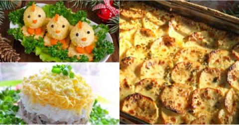 Оригинальное меню для главной ночи года: 7 гениальных блюд!