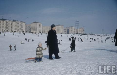 1959 год. Дети Москвы: фото …