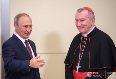 Важную роль России в построении мира отметил госсекретарь Ватикана