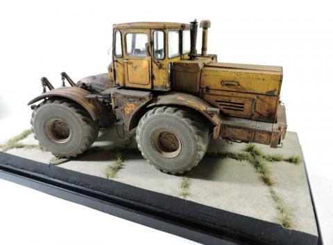 Трактор К-700 собранная модель