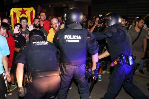Гражданская гвардия Испании провела обыски в Каталонии