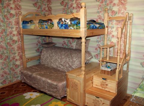Двухъярусная детская кровать…