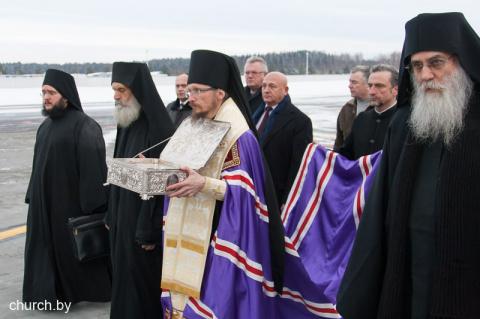 Впервые в истории Дары волхвов принесены в Белоруссию