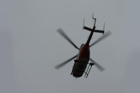 Вертолеты эвакуируют пострад…