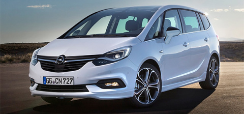 Opel приступил к производству обновленного минивэна Zafira