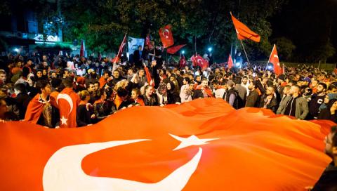 Куртулмуш: Турции переворот больше не грозит