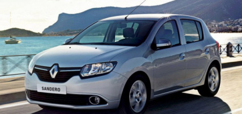 RenaultSandero 2014 предварительное знакомство.