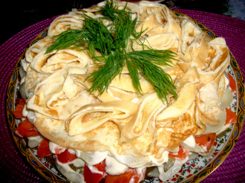 Салат по - Казахски