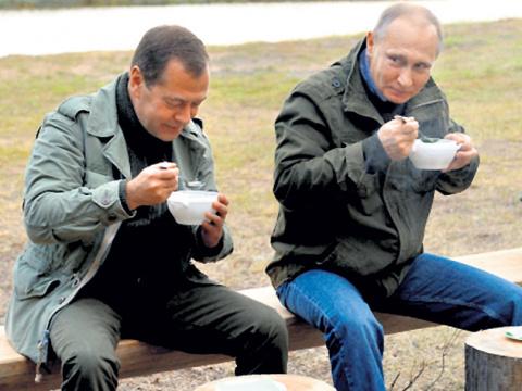 Путин и рыбаки