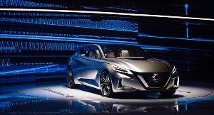 Концепт Nissan VMotion 2.0 д…