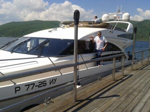 Иркутск - Байкал - Баня Корабль