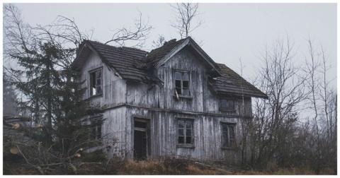 Заброшенные дома Скандинавии…