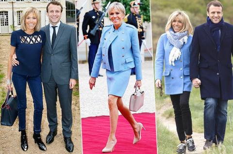 Женщина французского президе…