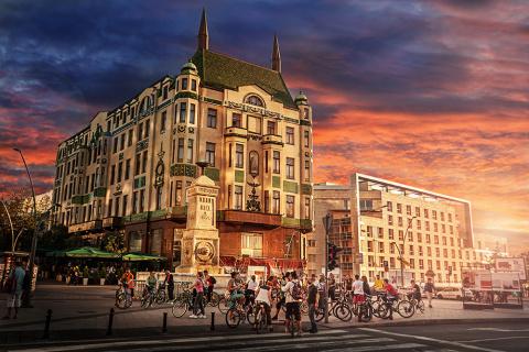 Величественный Белград на сн…