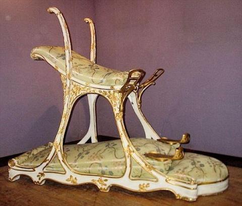Это необычное кресло изготов…
