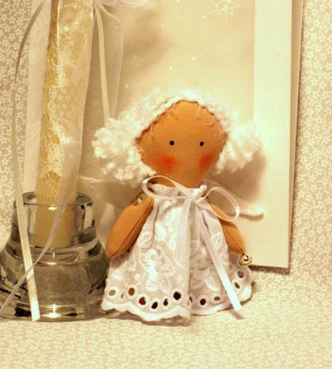 Подарок - маленький ангел (Мастер- класс)
