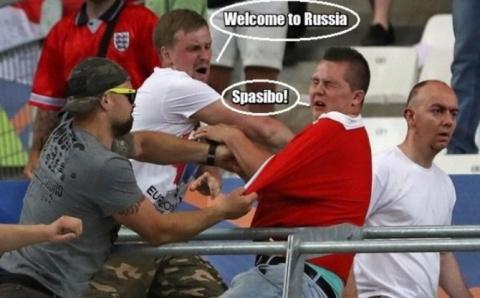 Ответ российских болельщиков…