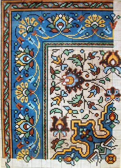 Старинные схемы вышивки крес…