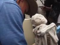 Мумию пришельца, обнаруженную в Перу, исследуют российские ученые