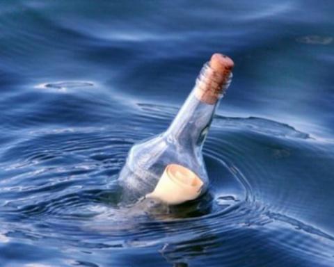 К моряку вернулась бутылка с…