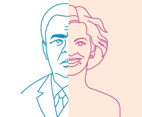 Инфографика недели: Леонид Брежнев vs Вера Брежнева