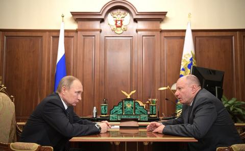 Встреча с президентом – председателем правления ГМК «Норильский Никель» Владимиром Потаниным
