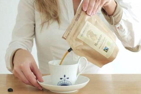 Кофе из одноразовой кофеварки