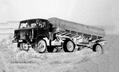 Первые советские активные автопоезда