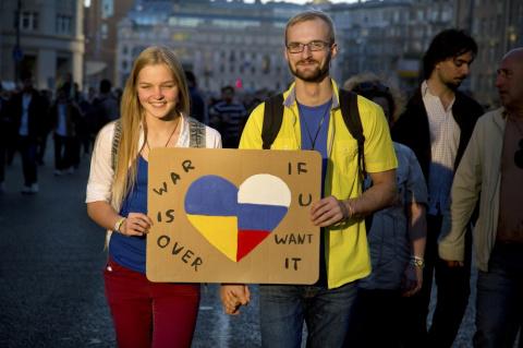 Пост украинки, опубликованны…