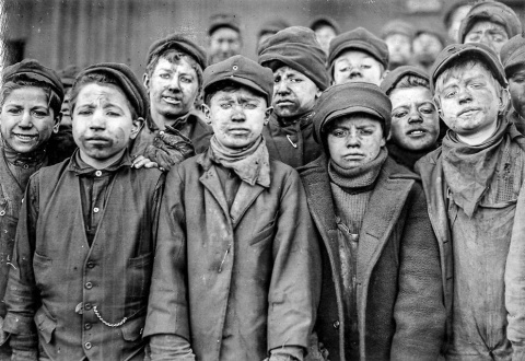 Детский труд в Америке XX ве…