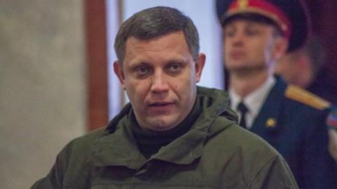 Глава ДНР Захарченко отреаги…