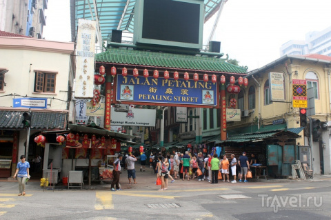 Куала-Лумпур. Улица Петалинг