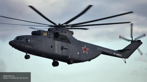 Армейская авиация ЗВО выполнила уникальную операцию в Арктике