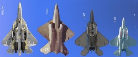 T-50 vs. F-22: печальный кон…