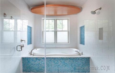 Универсальный дизайн плюс максимум оригинальности: 20 восхитительных идей оформления ванной комнаты