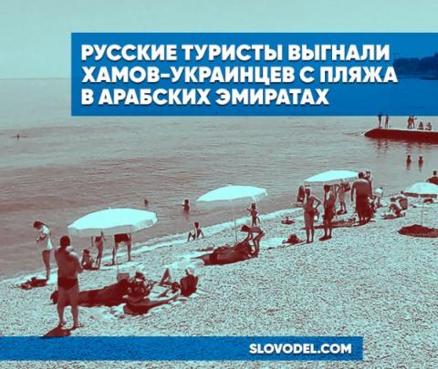 Русские туристы выгнали хамо…