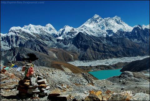 Базовый лагерь Эвереста и оз…