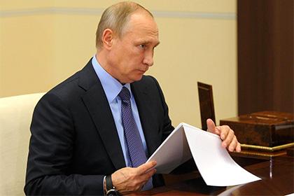 Путин отказал военным в возо…