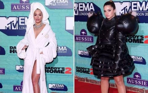«MTV EMA-2017»: самые яркие образы и странные наряды звёзд