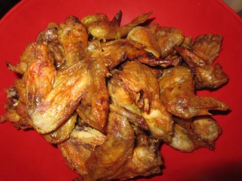 Крылышки в карри и чесноке (простой рецепт)
