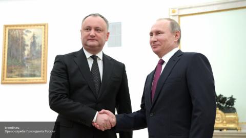 Путин подарил Додону уникаль…
