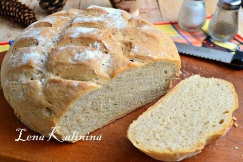 Пшенично-ржаной хлеб в духовке от Елены Калининой. Предлагаю вам испечь…