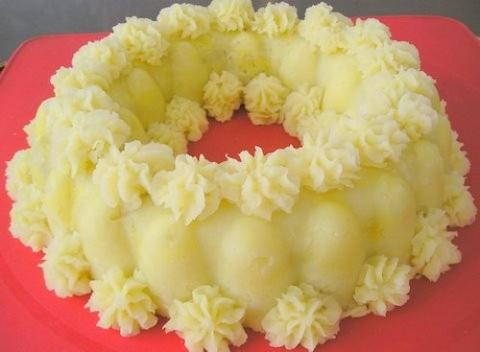 Пюре из картошки (после праздничный завтрак)