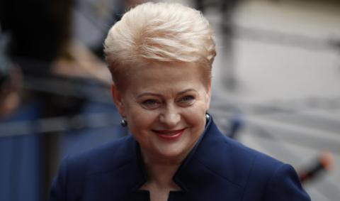 Грибаускайте объяснила, почему литовцам не стоит опасаться «зелёных человечков» из России