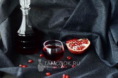 Спиртные напитки. Гранатовый ликер