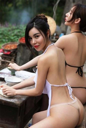 Вот, взгляни-ка на обычных китайских селянок. Да по ним же рыдает Victoria Secret!