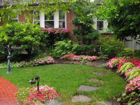 Красивые уголки сада (24 фото) — набираемся идей для нашей дачи