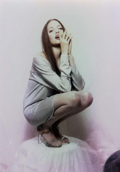 Анджелина Джоли в фотосессии Лионеля Делюи
