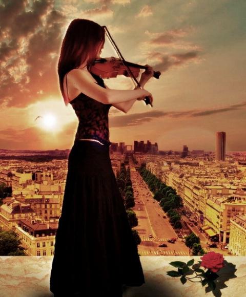 Осенняя скрипка.